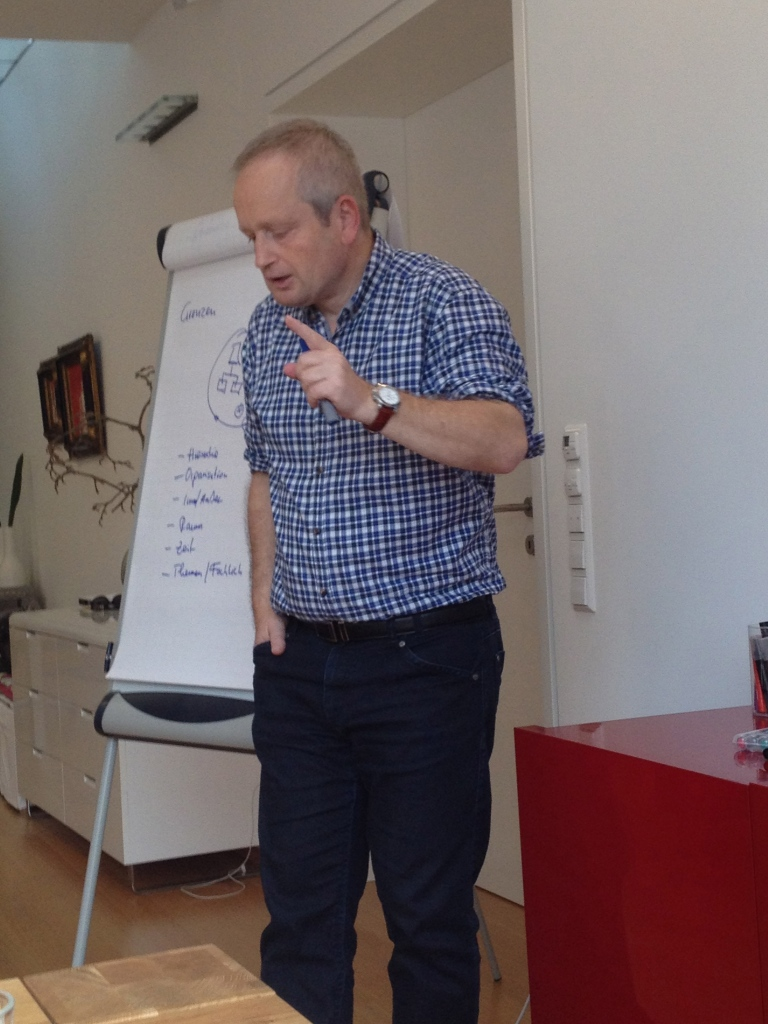 Thomas Broessler im Enterprise 2.0 WS
