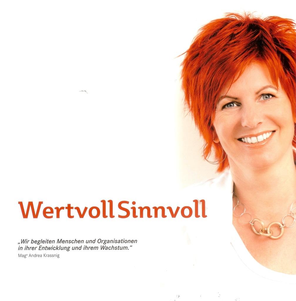 Andrea Krassnig Wertvoll Sinnvoll Abrechnung25.10.2013